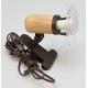 ARGUS 50032/KL  reflektorové svítidlo dřevěné - klipsa
