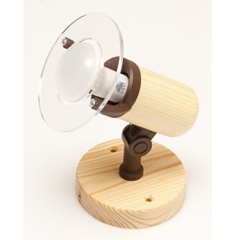 ARGUS 50032/NS   reflektorové svítidlo dřevěné - nástěník