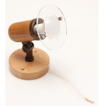 ARGUS 50032/ VT  reflektorové svítidlo dřevěné - nástěník s vypínačem