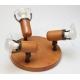 ARGUS 50032/TR  reflektorové svítidlo dřevěné - trio