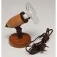 ARGUS 50033/FL  reflektorové svítidlo dřevěné - nástěník s flexo šňůrou
