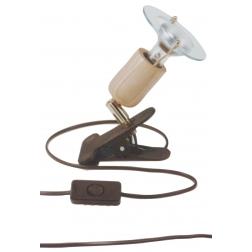 ARGUS 50034/KL  reflektorové svítidlo dřevěné - klipsa