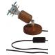 ARGUS 50031/FL  reflektorové svítidlo dřevěné - nástěník s flexo šňůrou
