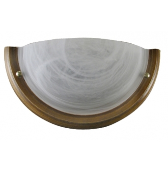 ARGUS 41117/II/N  ASTRA II MURANO přisazené svítidlo dřevo - nástěník