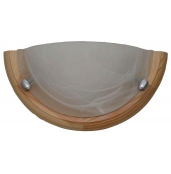 ARGUS 41118/N  OLYMPIA MURANO přisazené svítidlo dřevo - nástěník
