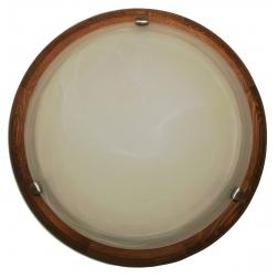 ARGUS 41118/50 OLYMPIA MURANO přisazené svítidlo dřevo - 50 cm