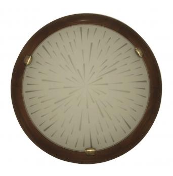 ARGUS 41119/50 TERRA přisazené svítidlo dřevo - 50 cm