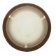 ARGUS 41119/50 TERRA  MURANO přisazené svítidlo dřevo - 50 cm
