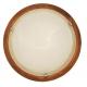 ARGUS 41118/36 OLYMPIA MURANO přisazené svítidlo dřevo - 36 cm