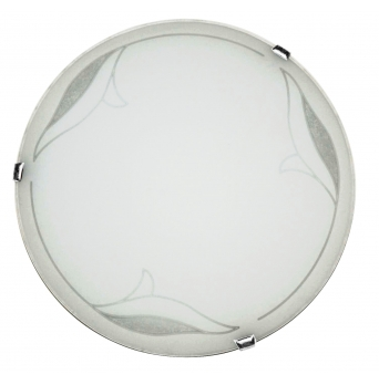 ARGUS LED OPTIMA 51120/40/18W NW přisazené svítidlo sklo s LED modulem - 40 cm