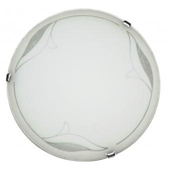ARGUS LED OPTIMA 51120/40/18W WW přisazené svítidlo sklo s LED modulem - 40 cm