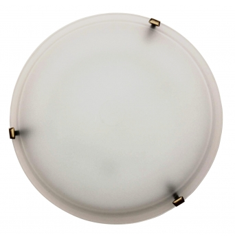 ARGUS LED OPTIMA 51120/40/24W WW MURANO přisazené svítidlo sklo s LED modulem- 40 cm